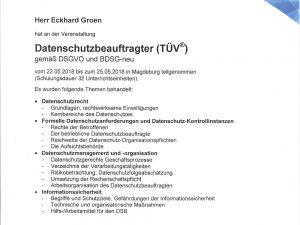 datenschutzbeauftragter eckhard groen