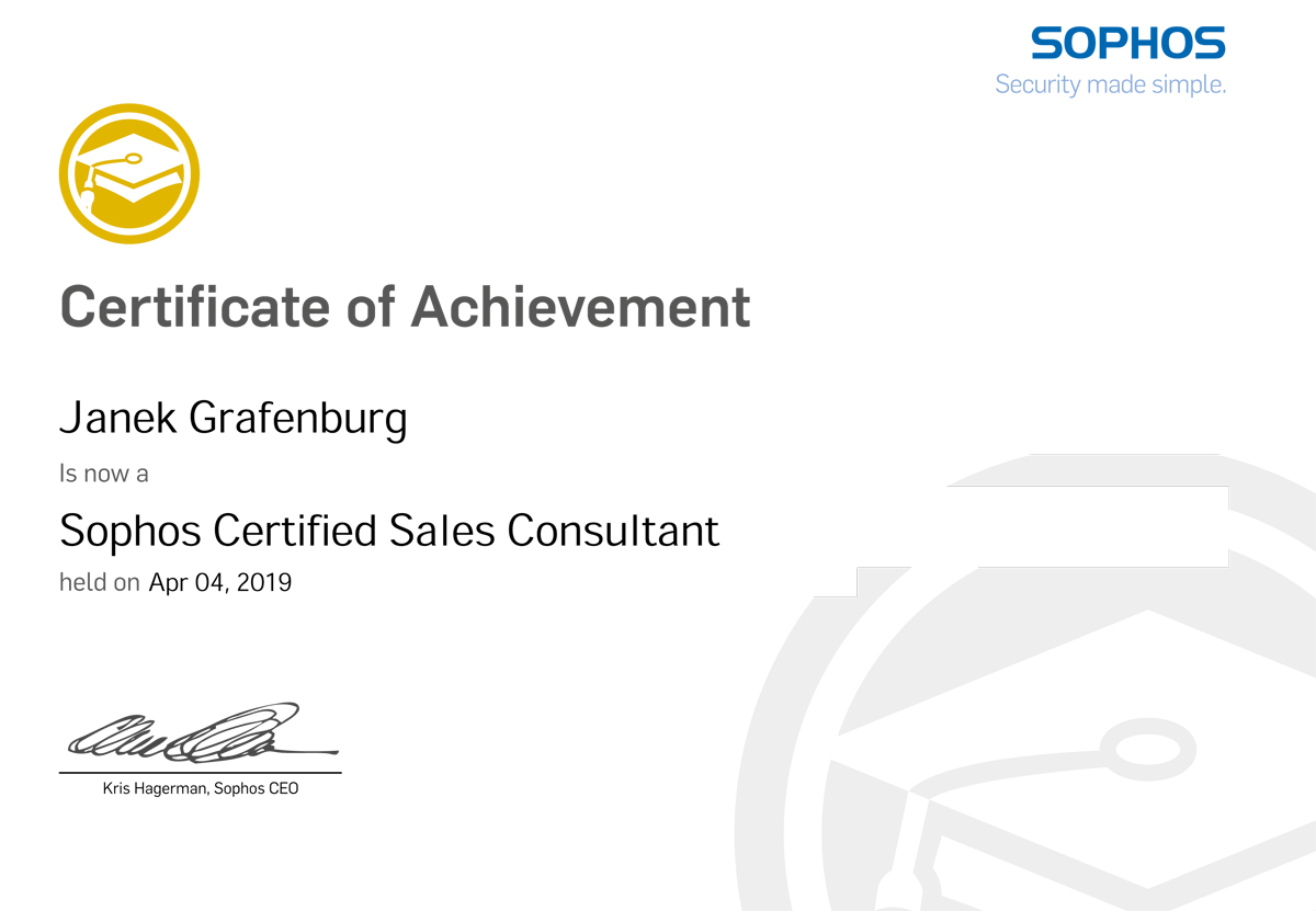 sophos zertifizierter partner