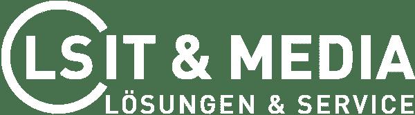 Logo LS IT & Media Weiß