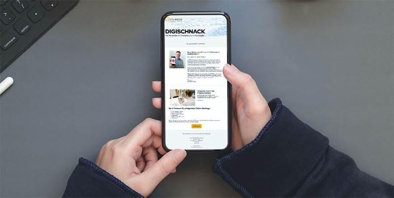 Digischnack - Unser Newsletter zur Digitalisierung in Ostfriesland