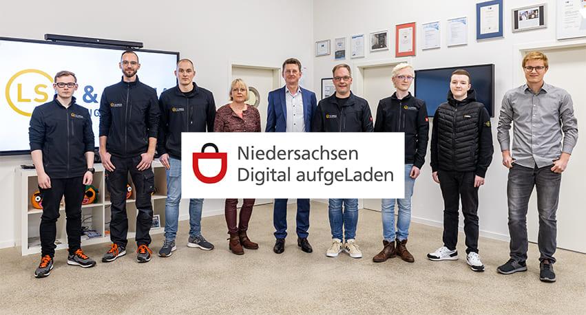 LS IT & Media qualifiziertes Beratungsteam für die Förderung Niedersachsen Digital aufgeLaden