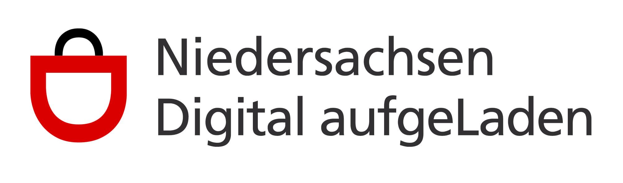 Logo für die Förderung Niedersachsen Digital aufgeLaden