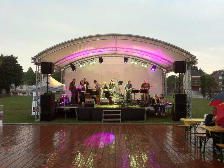 Licht- und Bühnentechnik für Musiker Outdoor-Events