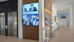 Digital Signage - Das digitale Schaufenster im Hotelflur