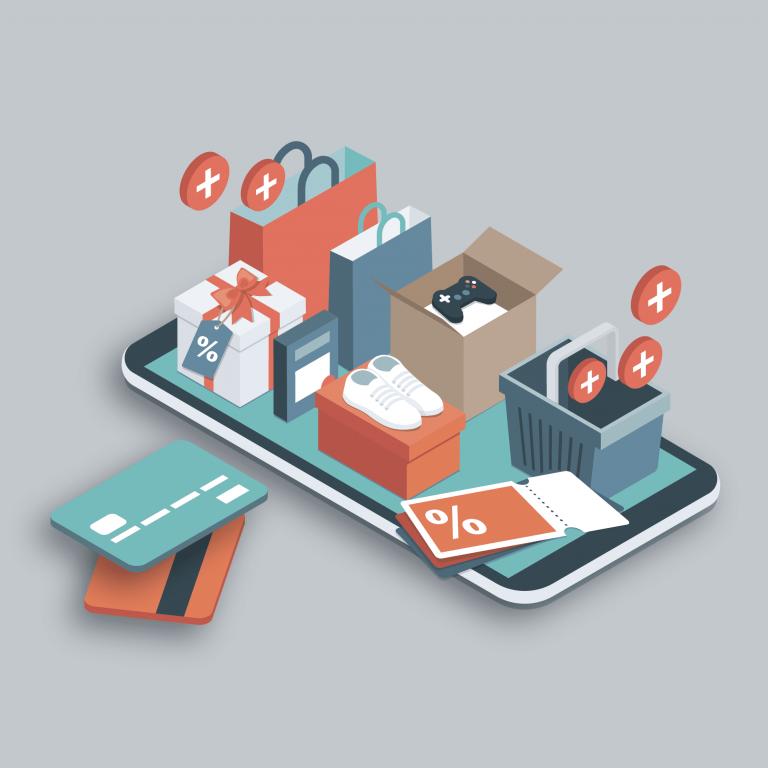 Förderung Digital aufgeLaden Niedersachsen für Einzelhändler - Produktverkäufe