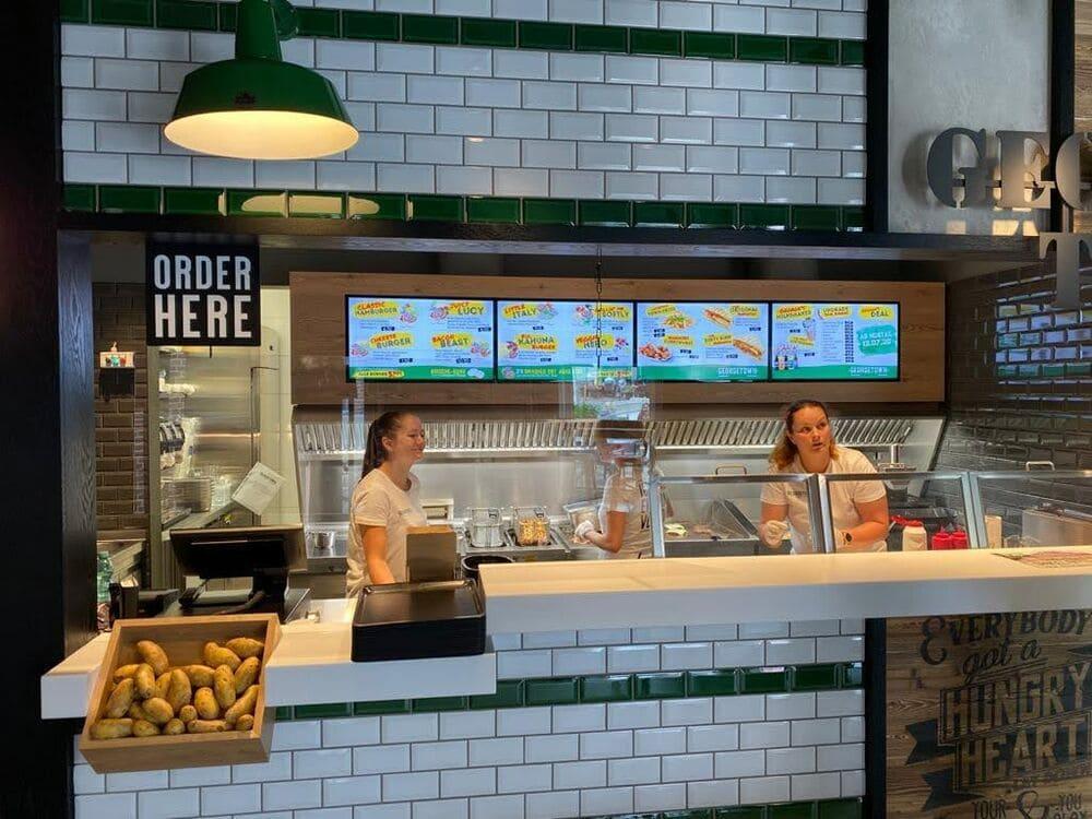 Digital-Signage - das skalierbare Schaufenster - Einsatz in der Gastronomie