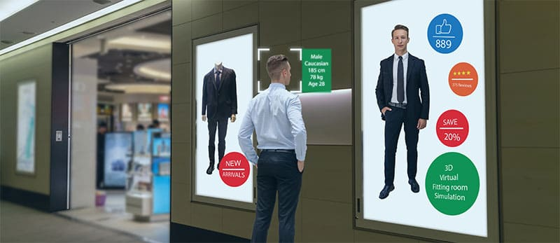 Digital-Signage - das skalierbare Schaufenster - Werbedisplay - Rentable Zukunftstechnologie schon heute